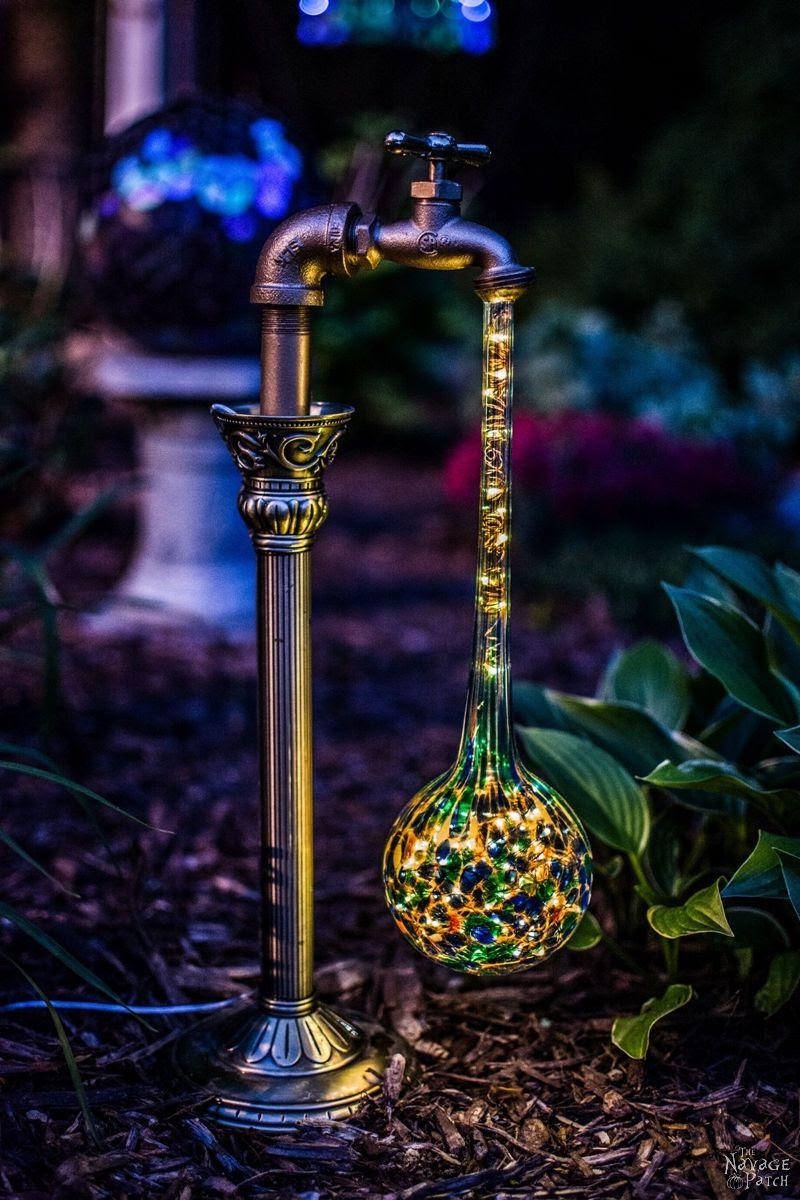 DIY Waterdrop Solar Garden Lights  The Navage Patch