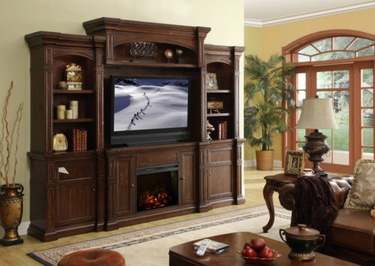 Top Of Entertainment Center Decorating Ideas Elitflat