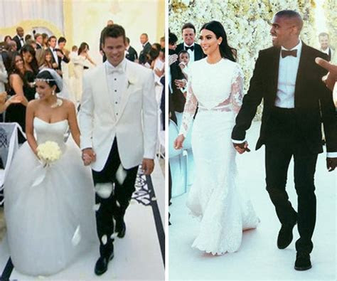 Kim Kardashian?s Wedding Dresses Battle: Kris Humphries V