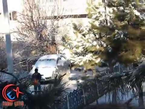 Bozkır Kar'lı Bir Güne Merhaba Dedi 16.02.2012 Video
