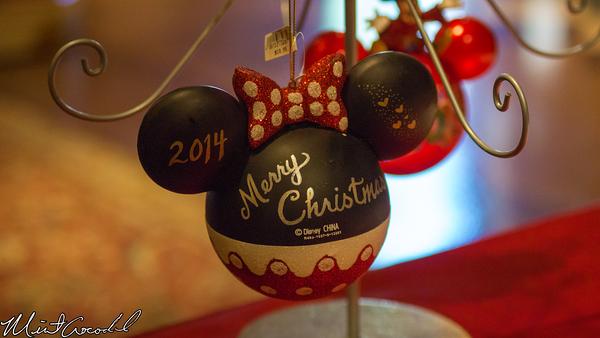 Disneyland Resort, Disney California Adventure, Buena Vista Street, Christmas, Time, Ornaments, Personalize