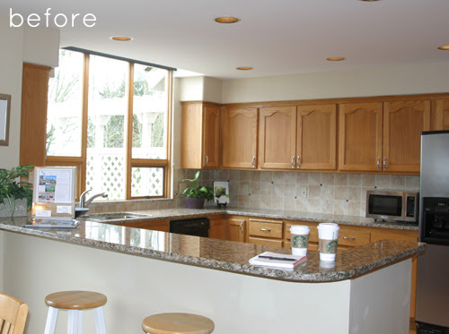 Before  After: Kitchen Makeover – Design*Sponge