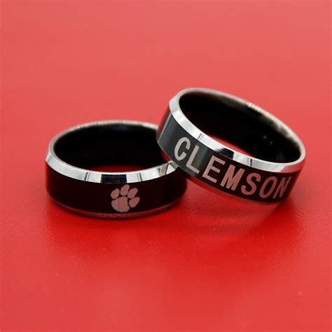 2017 Clemson Tigers ring Wedding Band Comfort Fit 8mm
