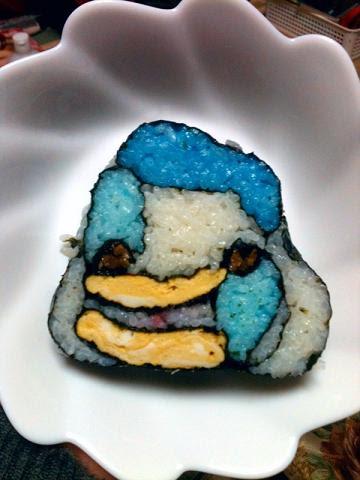画像 お弁当節分簡単かわいいキャラ巻き寿司レシピ