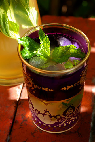 mint and ginger iced tea© by Haalo