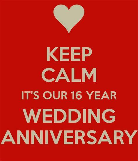 16 Year Wedding Anniversary Quotes. QuotesGram