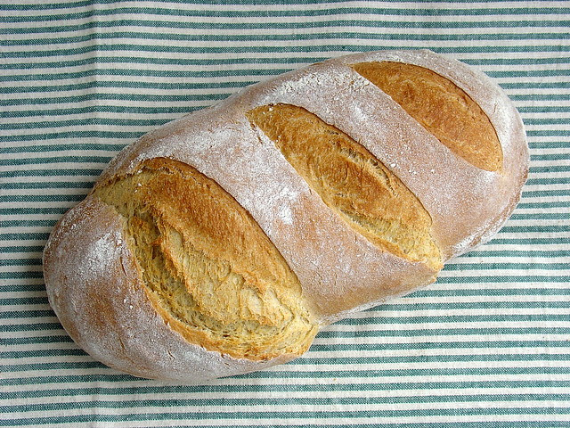 Pan de trigo ligero
