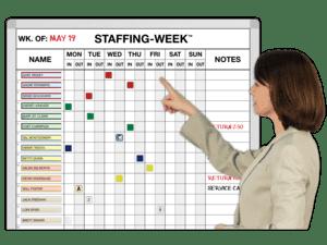 Weekly Calendar Planner Whiteboards