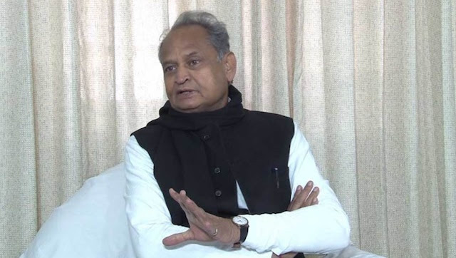 File image of Rajasthan chief minister Ashok Gehlot.