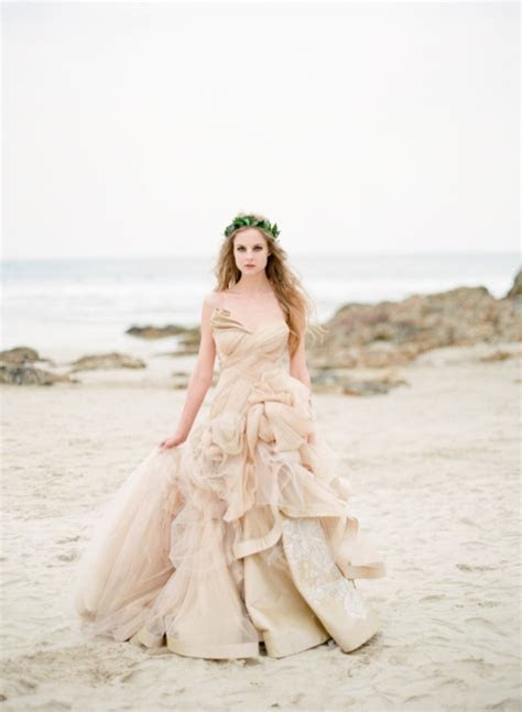 Picture Of Intricate Sea Life Inspired Wedding Dresses By
