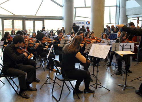 ORQUESTA DEL CONSERVATORIO DE LEÓN EN MUSIKA-MÚSICA BILBAO 2011
