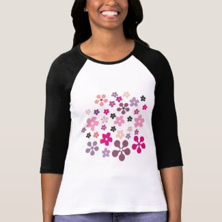 Yogurt Flowers shirt