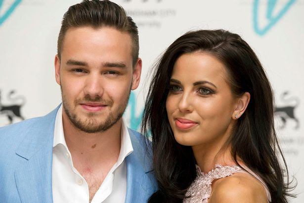 Liam Payne of One Direction arrives with his partner Sophia Smith, for the Great Gatsby Ball at Bloomsbury Ballrooms in London
