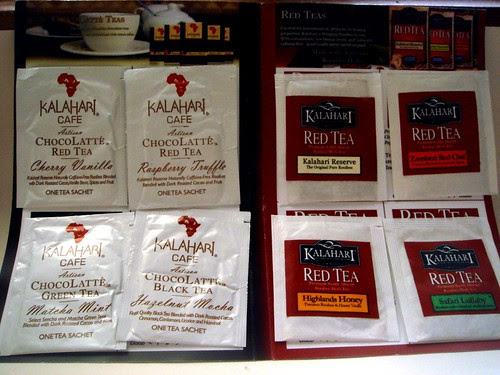 Kalahari tea sampler
