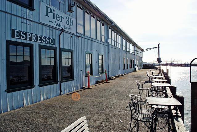 Pier 39 - Astoria, Oregon
