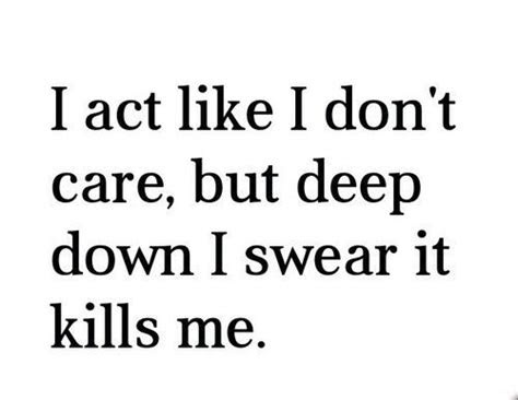 Just Dont Care Quotes Tumblr