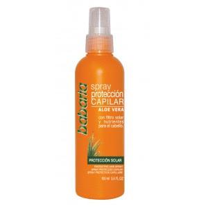 Babaria sun Spray Protector Capilar Aloe vera 100 ml, blog cosmética, blog solo yo, solo yo, protección capilar, leche corporal, enjuague bucal, productos acabados,
