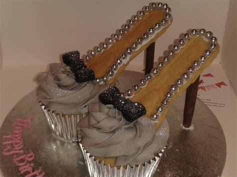 Stilleto Cupcake Shoes   The Dotty Bakery