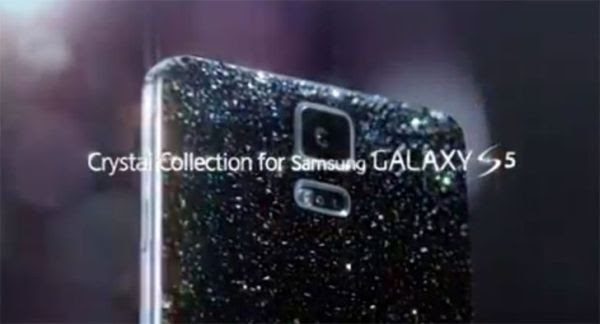 Galaxy S5 Crystal Collection.