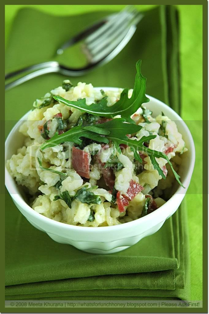Rucola Bresaola Risotto (03) by MeetaK