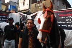 The Barefeet Beggar Poet of Mumbai by firoze shakir photographerno1