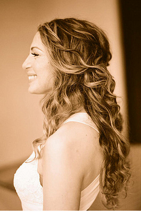 Wedding Hairstyles Down And Curly