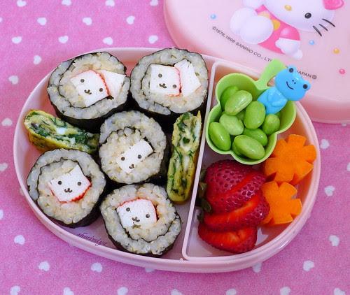 Sushi Preschool Bento by sherimiya ♥