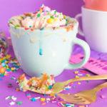 Funfetti Mug Cake for One | Club Crafted