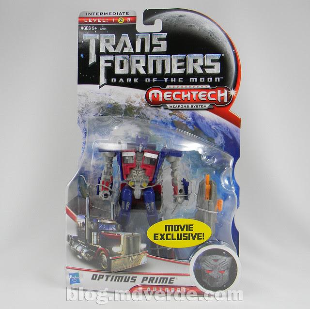 Transformers Optimus Prime DotM Deluxe - caja