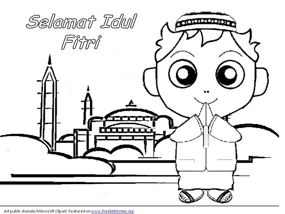 Gambar Mewarnai Hari Raya Idul Fitri Auto Electrical Wiring Diagram