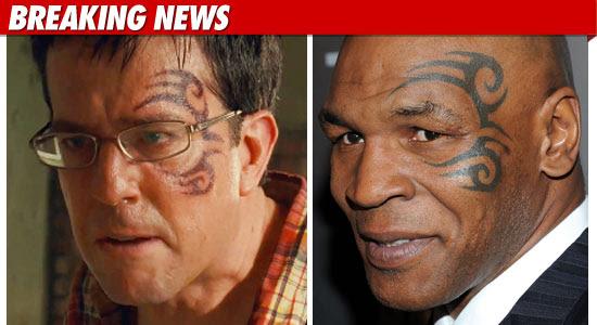 'Hangover' Face Tattoo to Be Un-Tyson'd for DVD | TMZ.com