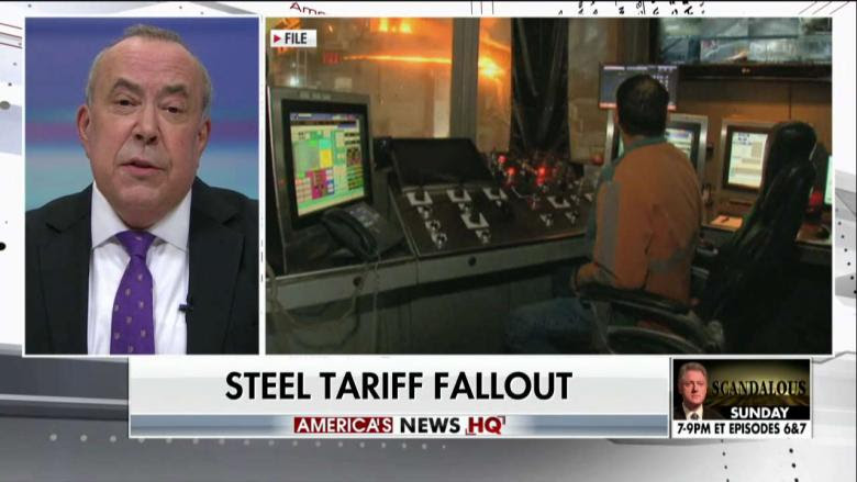 Image result for PA Radio Host: Trump Steel Tariffs Could 'Mean a Lot' After Decades of 'Jobs Disappearing'
