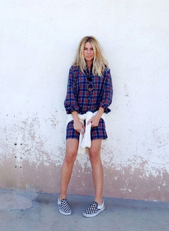 Le Fashion Blog -- 15 Ways To Wear Checkered Vans Slip On Sneakers -- Blogger Style: Plaid Dress -- Via Ascot Friday -- photo 13-Le-Fashion-Blog-15-Ways-To-Wear-Checkered-Van-Slip-On-Sneakers-Plaid-Dress-Via-Ascot-Friday.jpg