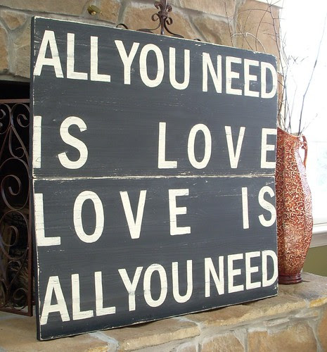 All you need is love - www.hopestudios.etsy.com