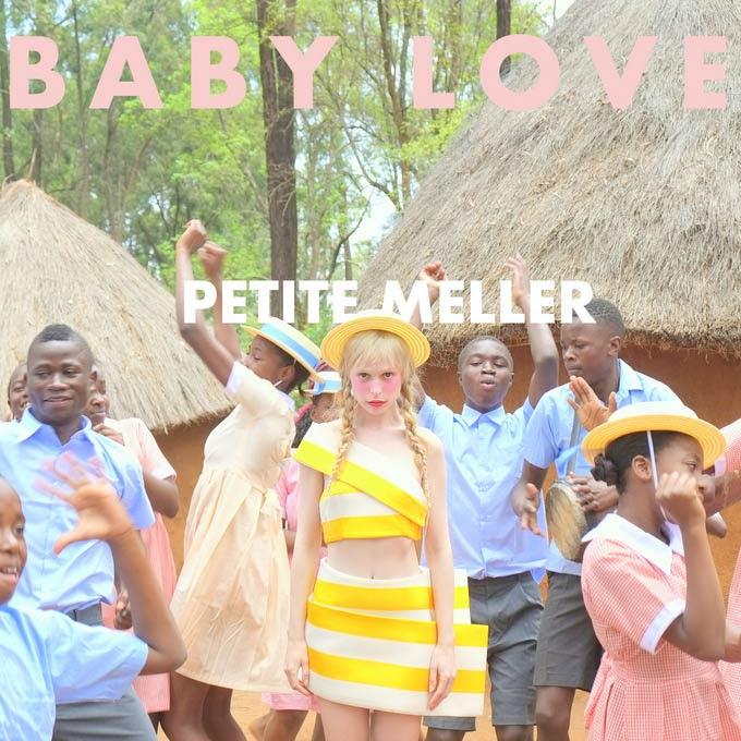Petite Meller: Baby love, la portada de la canción