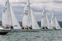 J/22s sailing Jack Rabbit regatta- Lake Canandaigua, NY