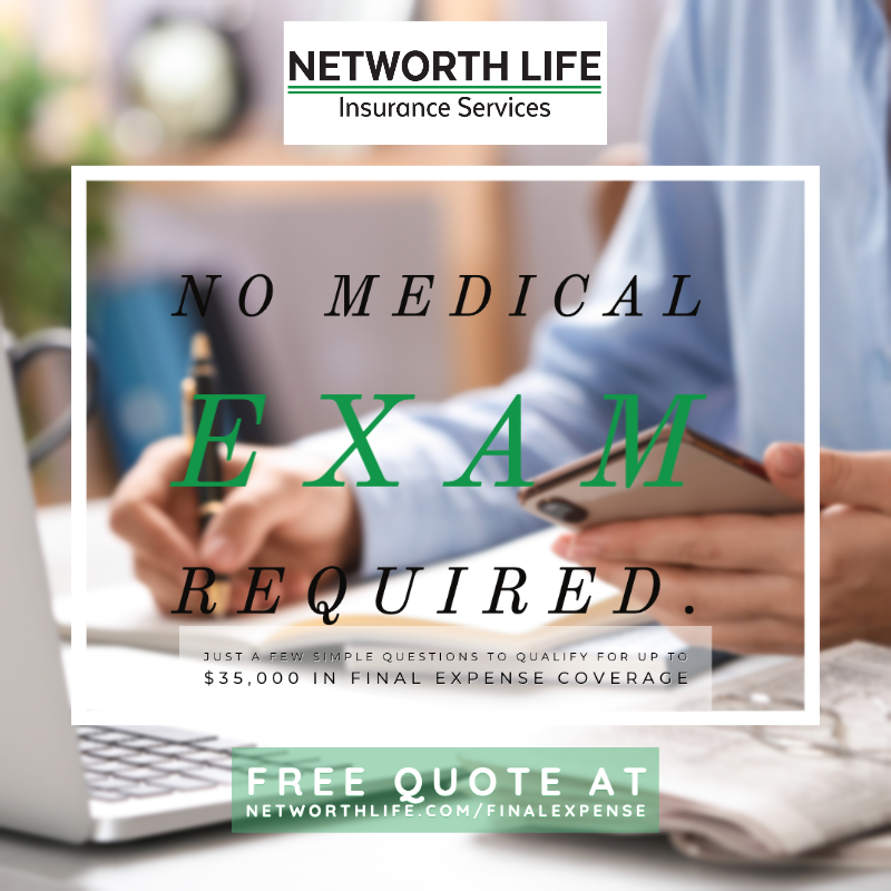 No Medical Exam Required for Final Expense Insurance ...