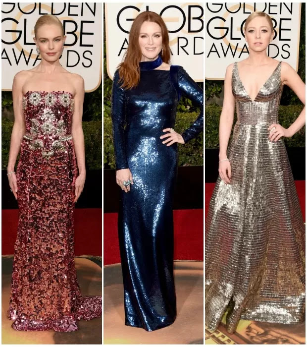 Kate Bosworth, Julianne Moore e Portia Doubleday (Foto: Getty Images)