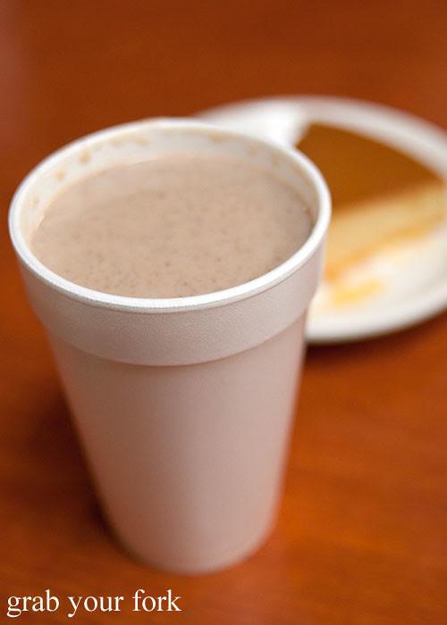 champurrado mexican hot chocolate at tamales lilianas restaurante mexican in east los angeles