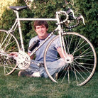 Michael Gill was 21 when he sold his Peugeot racing bike in 1985.