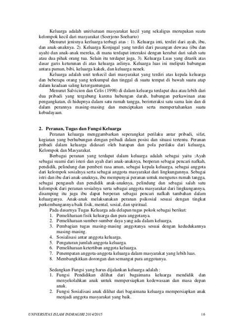 Makalah Metodologi Studi Islam - Keluarga dan Masyarakat