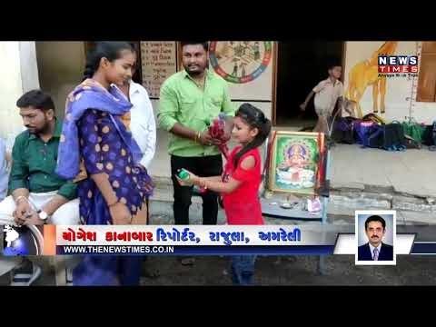 અનાથ બાળકોને છત્રી ભેટ આપી કરાઈ જન્મદિવસની ઉજવણી