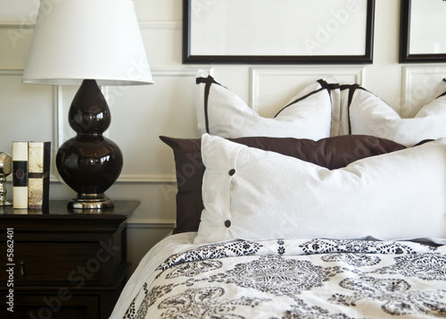 Beautiful Bedroom interior design © Paul Hill #5862401