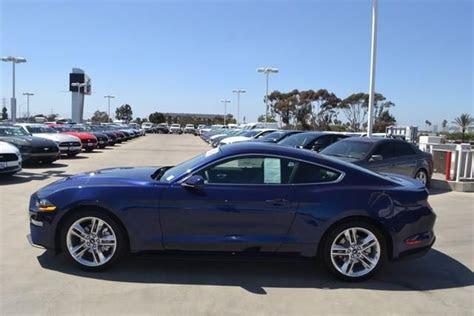 ford mustang ecoboost premium fastback kona blue