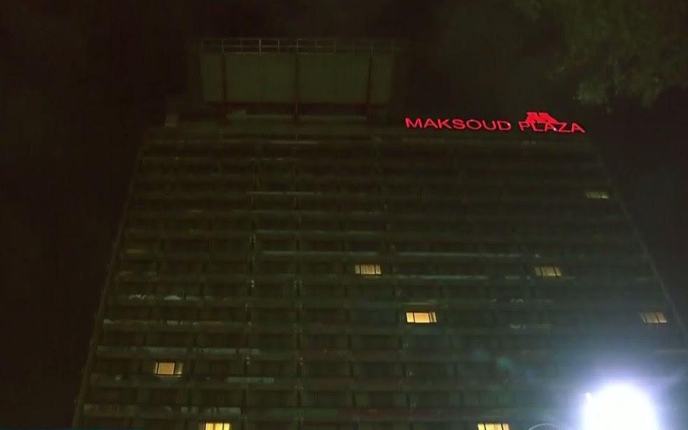 Hotel Maksoud Plaza, nos Jardins (Foto: Reprodução/TV Globo)