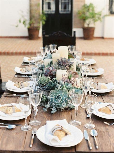 Low Wedding Centerpieces that Will Steal the Show