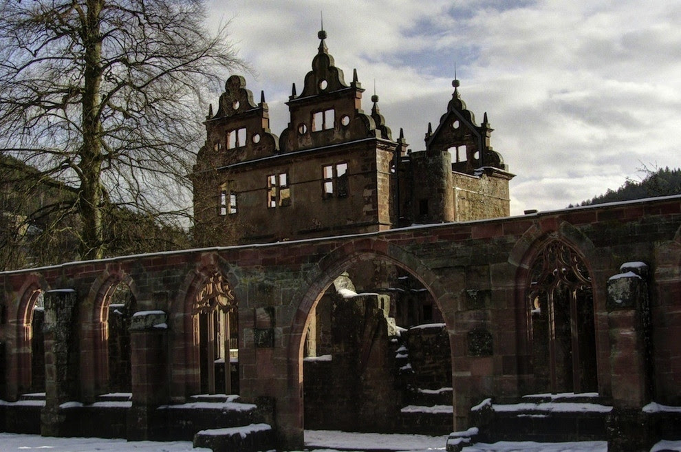 15th century monastery in the Black Forest in Germany