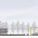 Pontivy Media Library / Opus 5 architectes East Elevation