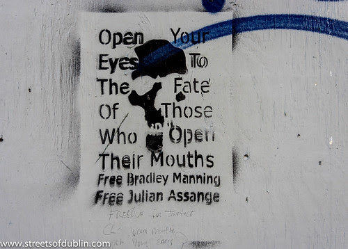 Free Julian Assange, Free Bradley Manning by infomatique