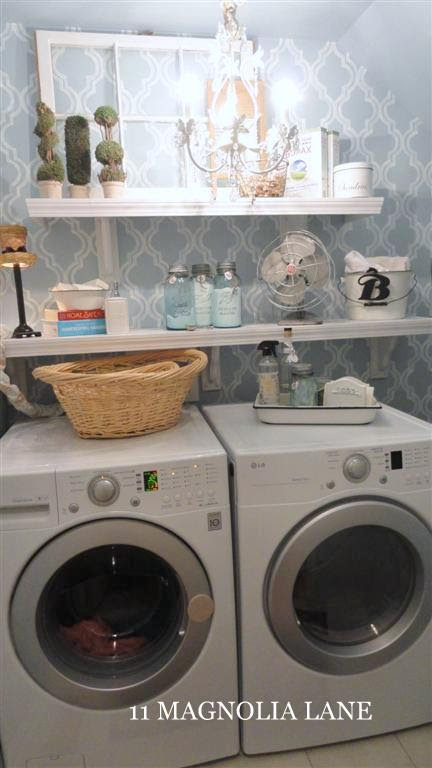 Small laundry room re-